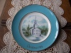 "Vintage Avon 1974 ""Country Church"" Plate by Enoch Wedgwood!"