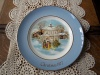 """Vintage Avon 1977 """"Carollers In The Snow!"""" Plate by Enoch Wedgwood!"""