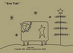 "Primitive Stitchery Pattern-Prim ""Ewe Tide"""