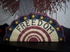 Primitive Freedom Metal Fan Plaque!