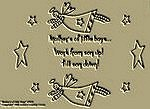 "Primitive Stitchery Pattern-Prim ""Mother's of Little Boys!"""