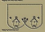 "Primitive Stitchery Patterns "" Raggedy Anne Shelf Scarf Pattern!"""