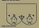 "Primitive Stitchery Patterns "" Raggedy Anne Shelf Scarf Pattern!"""