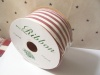 10 Yards of Ameriana Country Red Striped Wire Edge Ribbon