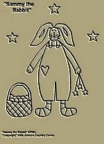 "Primitive Stitchery Pattern, Prim ""Sammy the Rabbit!"""