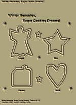 "Primitive Stitchery Pattern, ""Winter Memories, Sugar Cookie Dreams!"""
